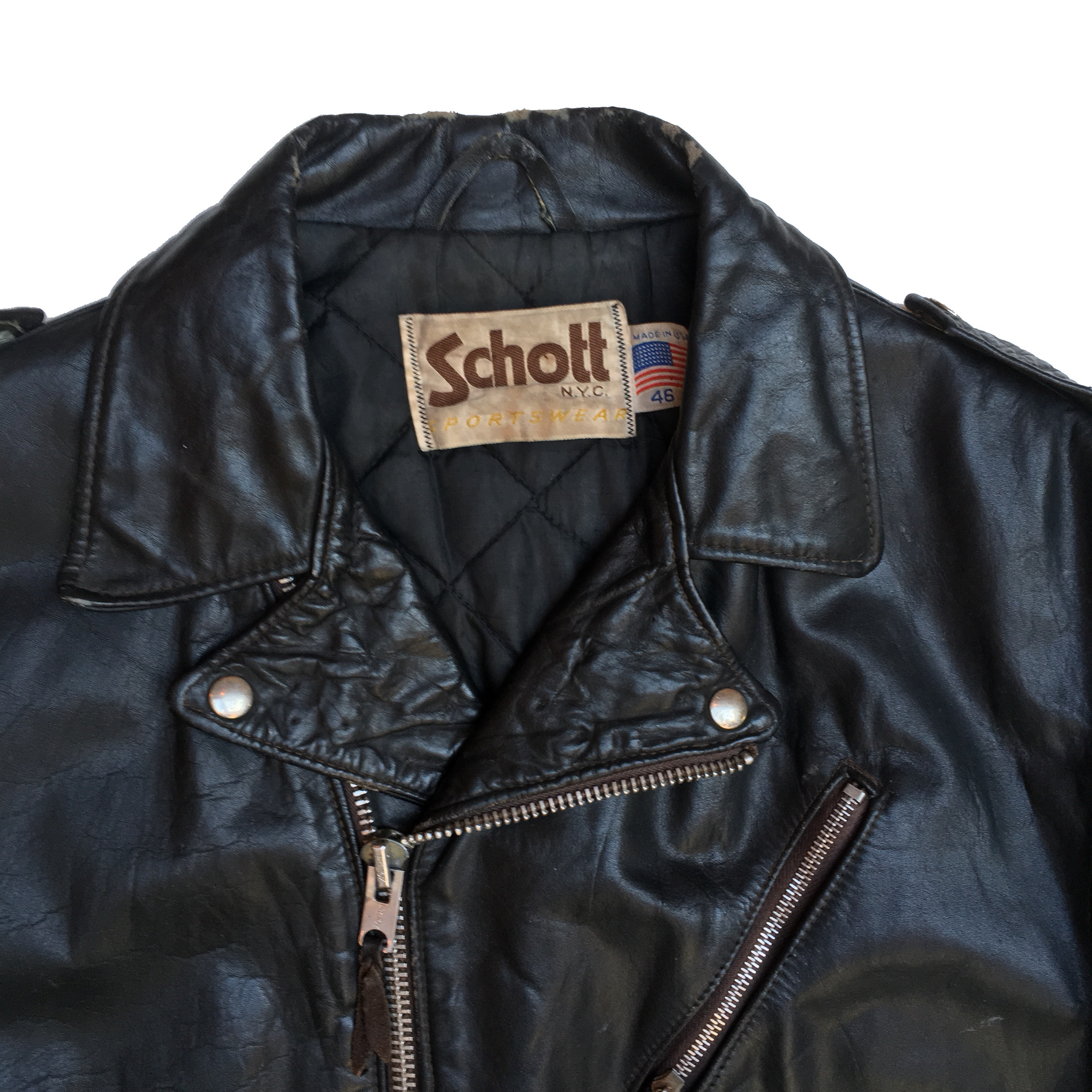 8d7088a53 Cheat Death - Hand Painted Vintage Leather Jacket
